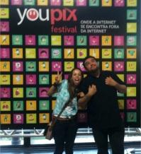Eu e Du no YouPix 2012!